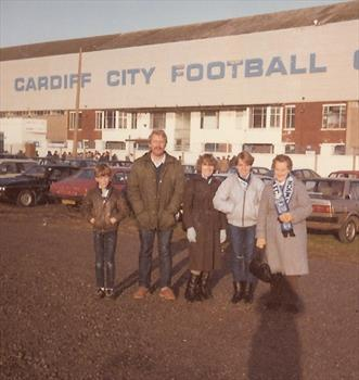 January 1984 - Cardiff City FC v Ipswich Town -  3rd round FA Cup