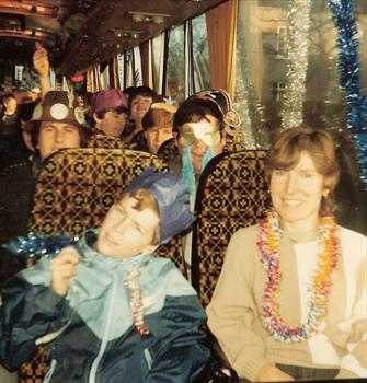 1984 Boxing Day - Clacton Branch away trip to Nottingham Forest