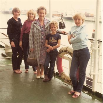 Super Blues Cruise to Belgium onboard the Viking  Viscount   1981