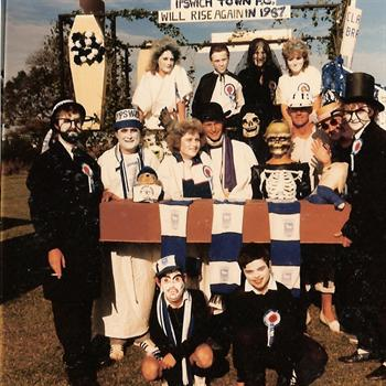 Clacton Carnival   August 1986 - Ipswich Town were relegated in May 1986!!!