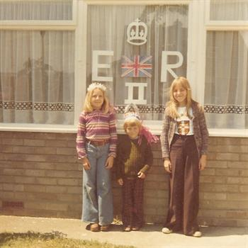 Silver Jubilee 1977 - Nicola, Paul and Tracey