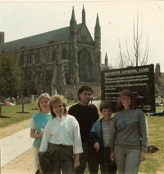 April 1985 - Winchester Cathedral - Away 'weekender'