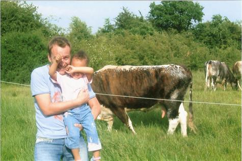 Summer 2004 - Paul and Tshequa at Epping Forest,