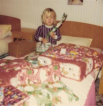 Christmas Day 1974 - Santa's been to Paul!!!