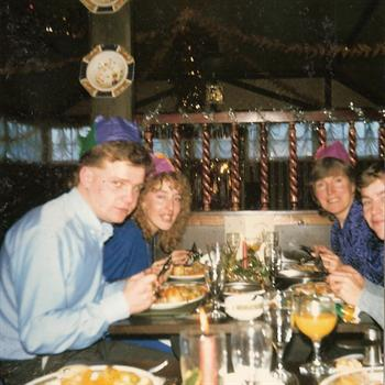Christmas Day 1987 - The King's Arm's, St Osyth