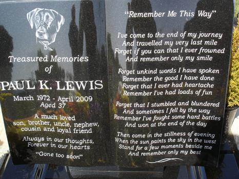 """""""Remember Me This Way"""" - Always in our thoughts, Forever in our hearts"""