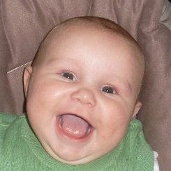 Billy's and Tanya's little cutie -  Rocco Peter Paul Higgins
