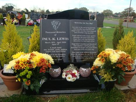 """Paul's flowers, with a red and white """"England"""" posy - 15th November 2010"""