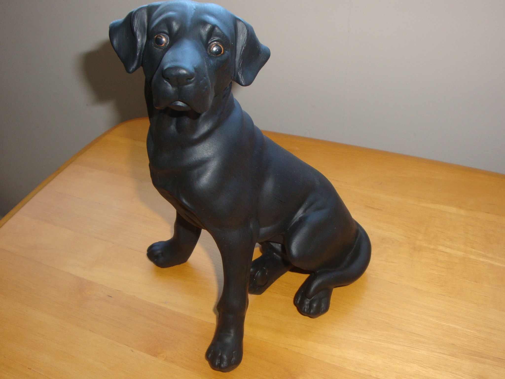 """Paul's statuette Toro after his """"make-over"""" - 5th October 2012"""