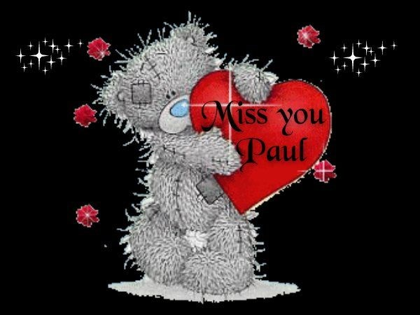 Missing Paul this Christmas and always♥♥♥