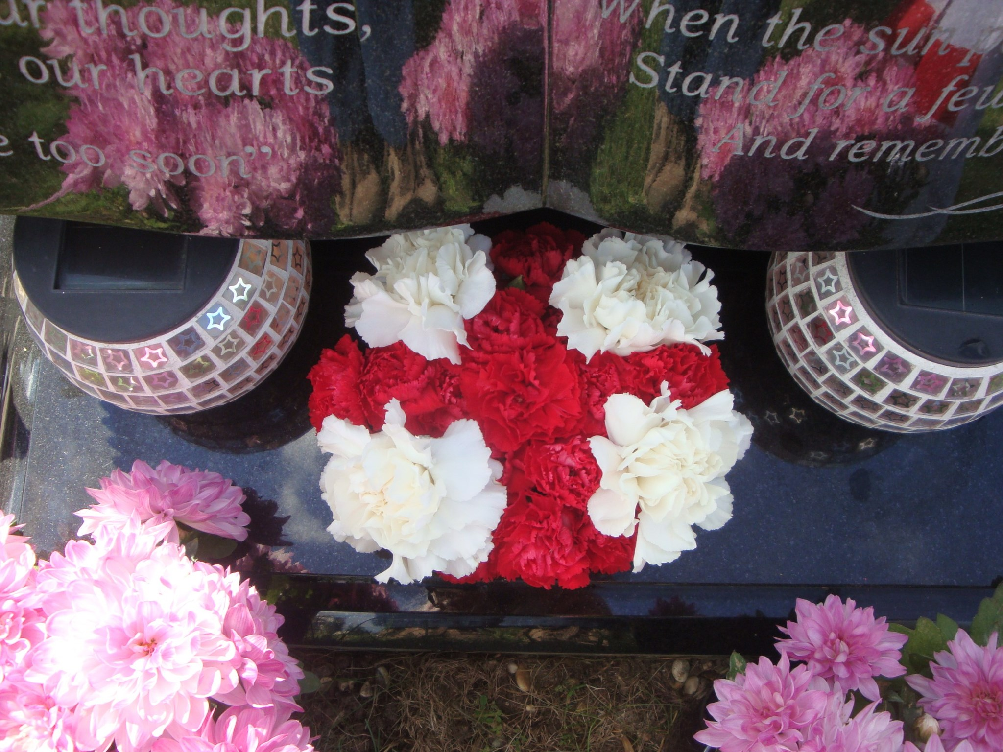 Paul's England posy for the World Cup - 14th June 2014