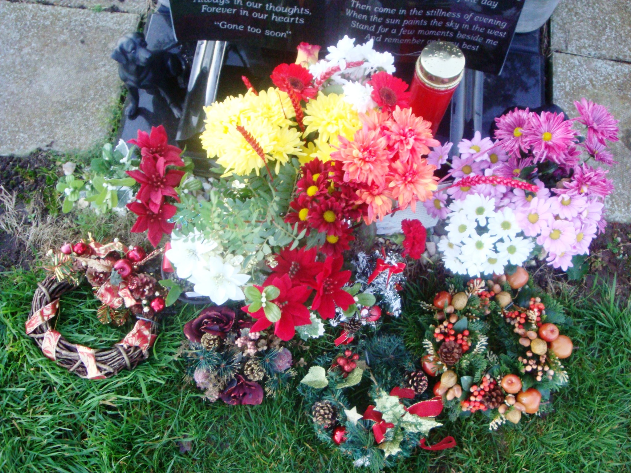 Christmas tributes for Paul from family and friends - 24th December 2015