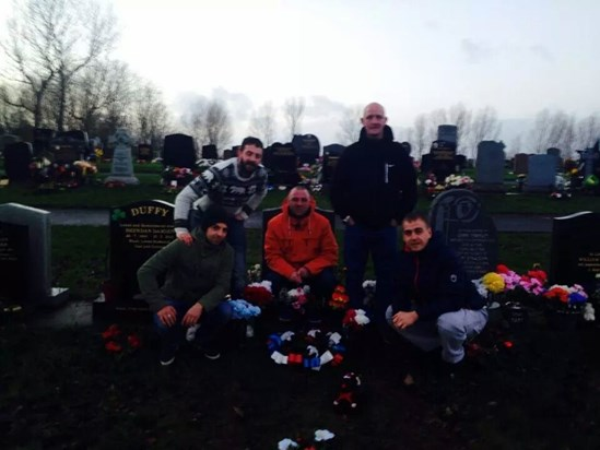 Merry Xmas Brexy. Brothers in arms. x