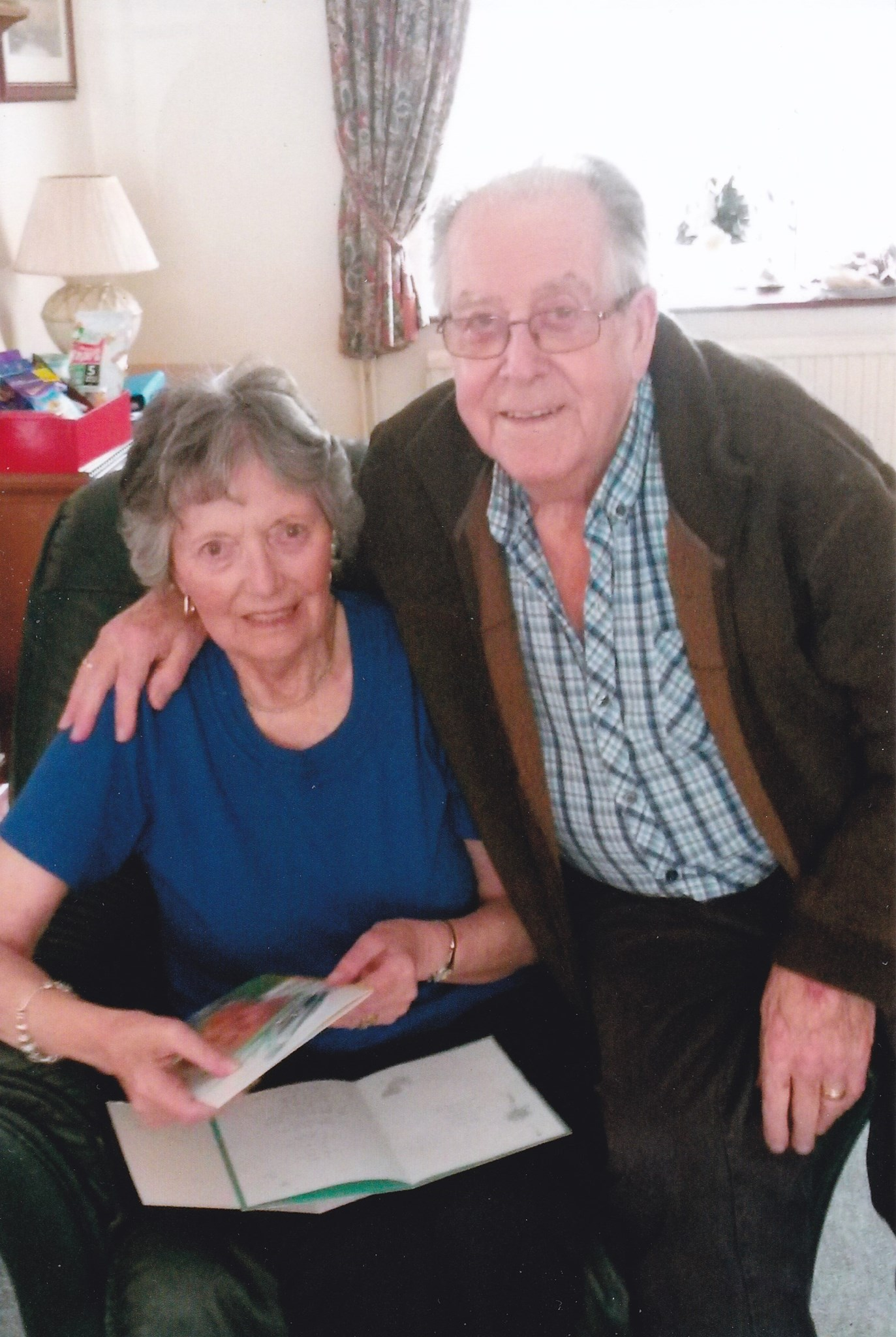 My precious parents, reunited on 2nd June 2016, together now till the end of time xxx