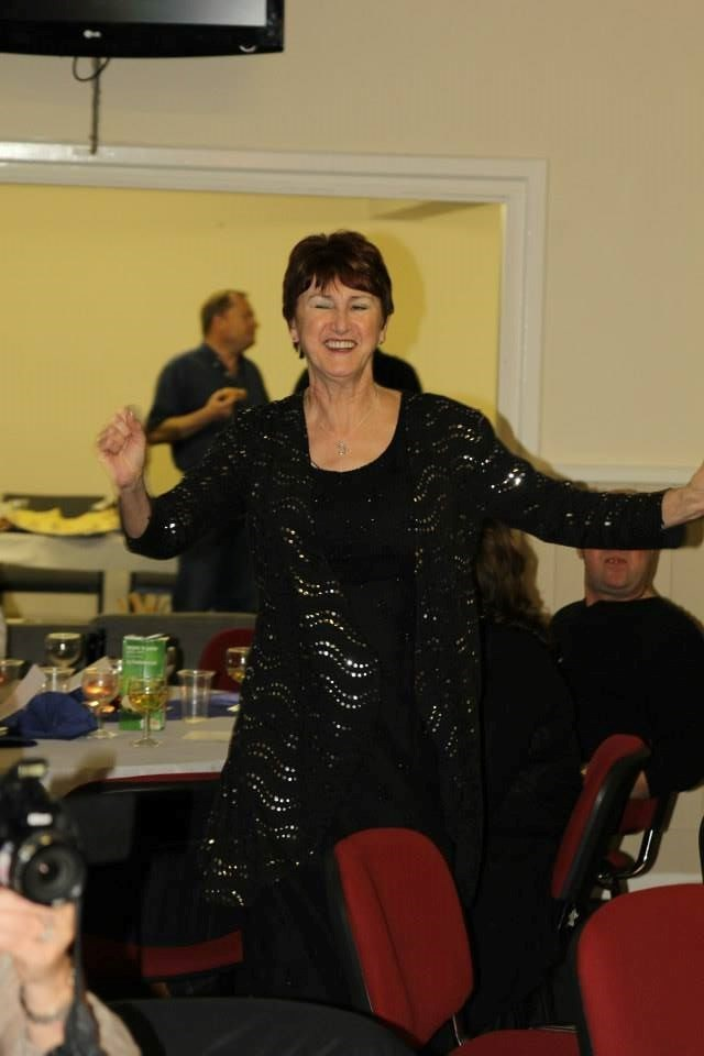 Jackie singing and dancing xx