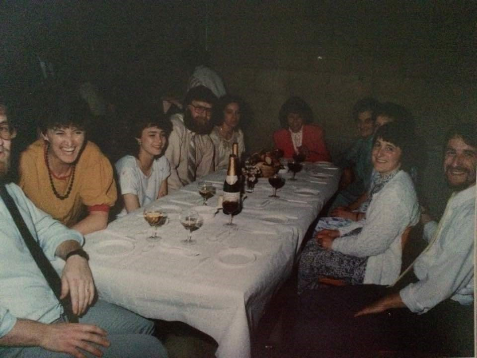 A young mum and I with friends.xx