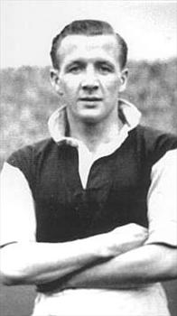 Tommy Cummings in his football days
