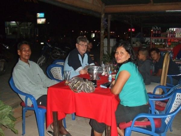 Night out with Mum, Dad, Tracy (Taking the photo) and Grandad in Phuket