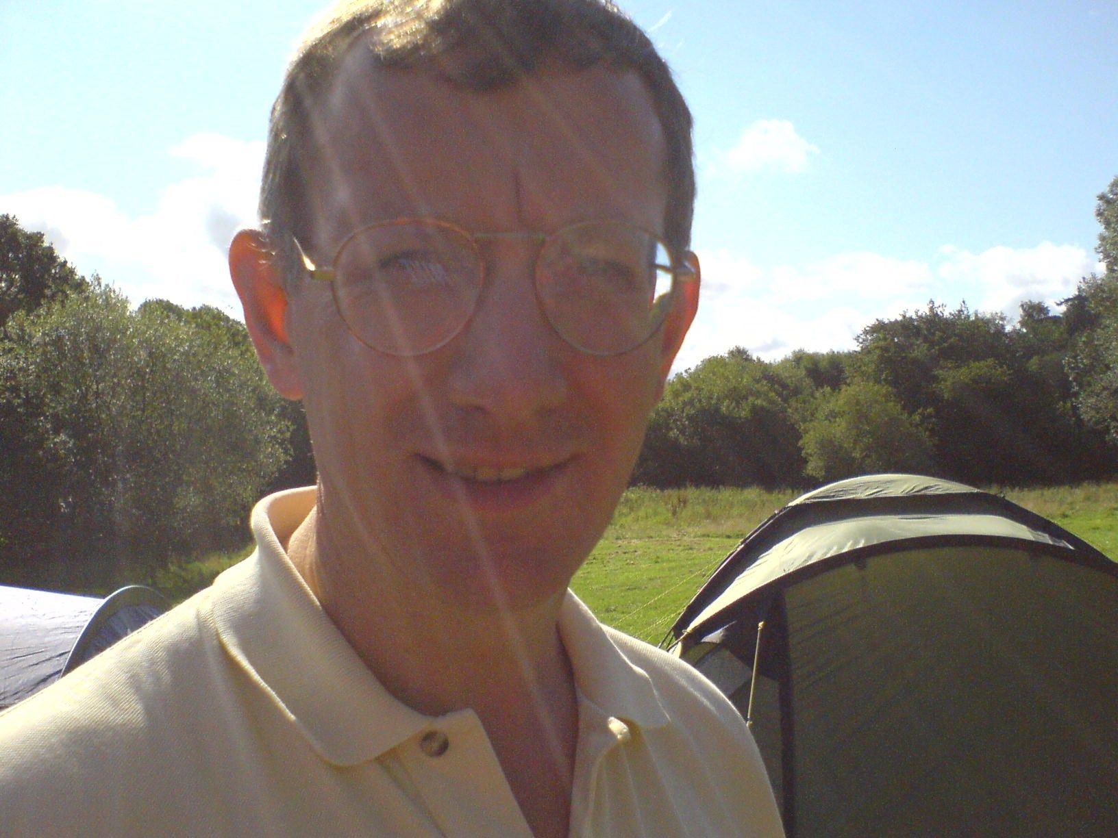 Paul at Summer Camp in Ireland, 2007, August 9th