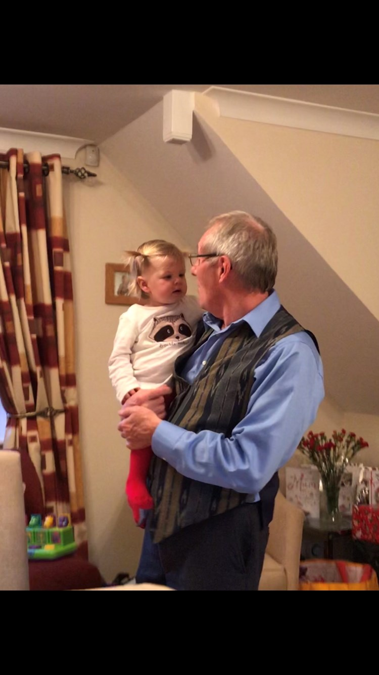 Isla engaged by Great Uncle John x