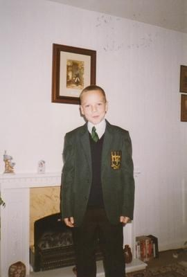 Jon's first day at secondary school