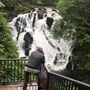 Waterfall in Wales ?????????????? I'm sure his soul has revisited already ??
