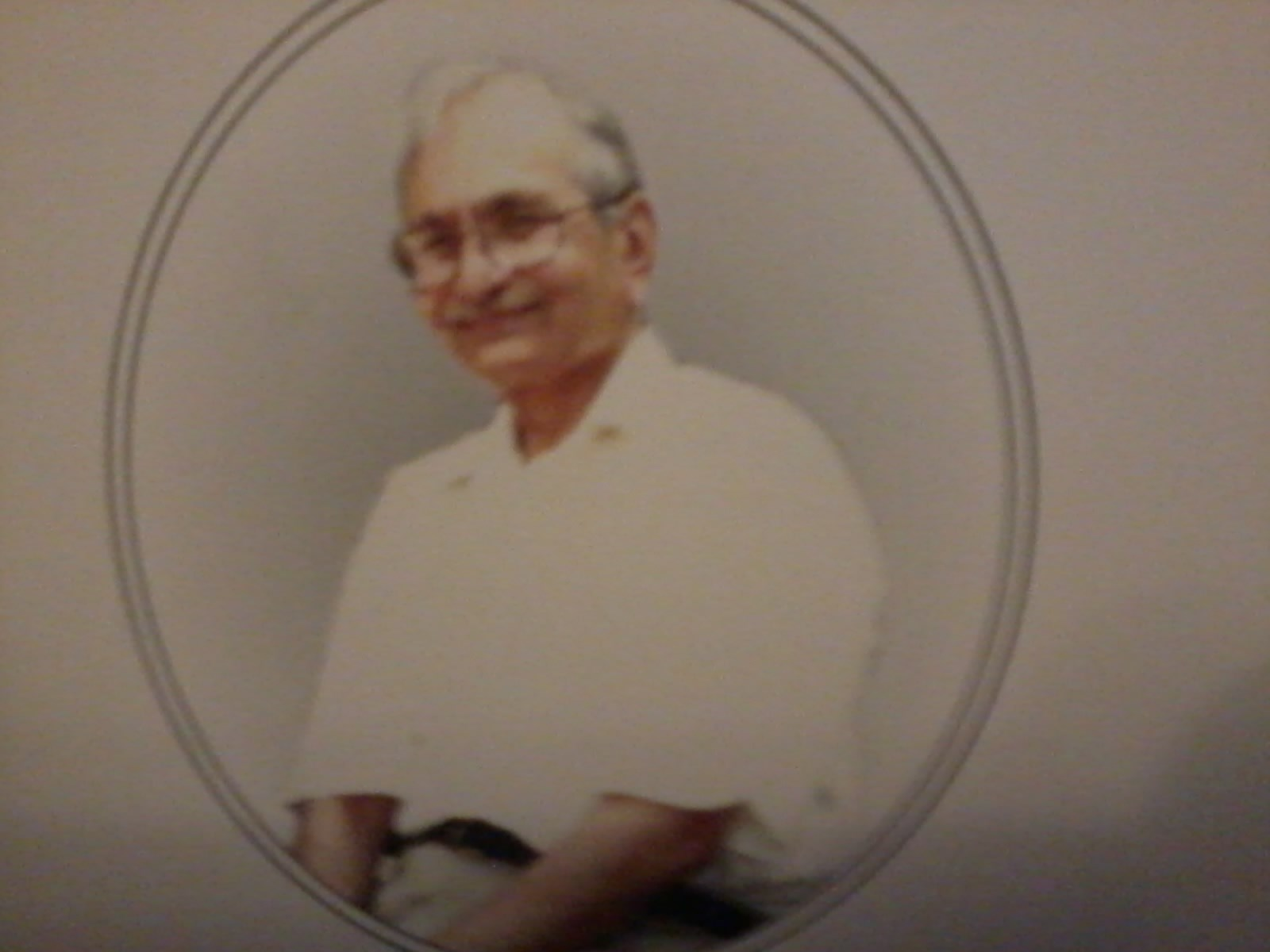 my Dad's older brother Muhammed Yoosof Sawal (13th Oct 1929-17th Sept 2013)