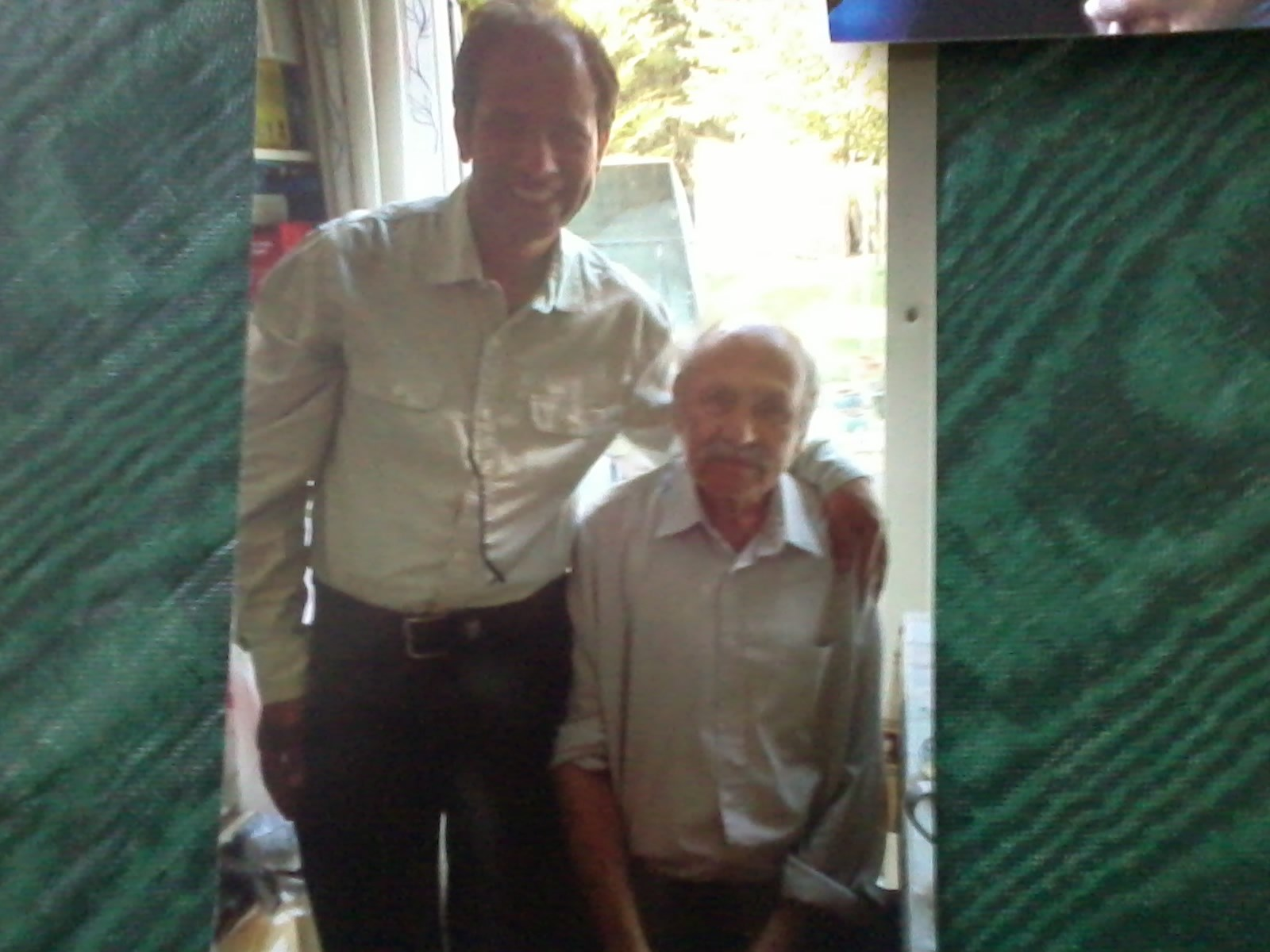 dad&ashraf (family friend/old neighbour)
