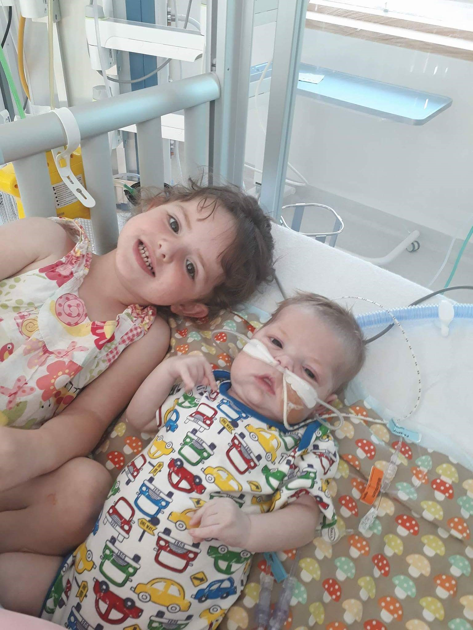 Leo lion and big sister Evie.. . My perfect babies xxx