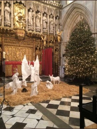 when Doorkins became part of the Nativity Tableau ??