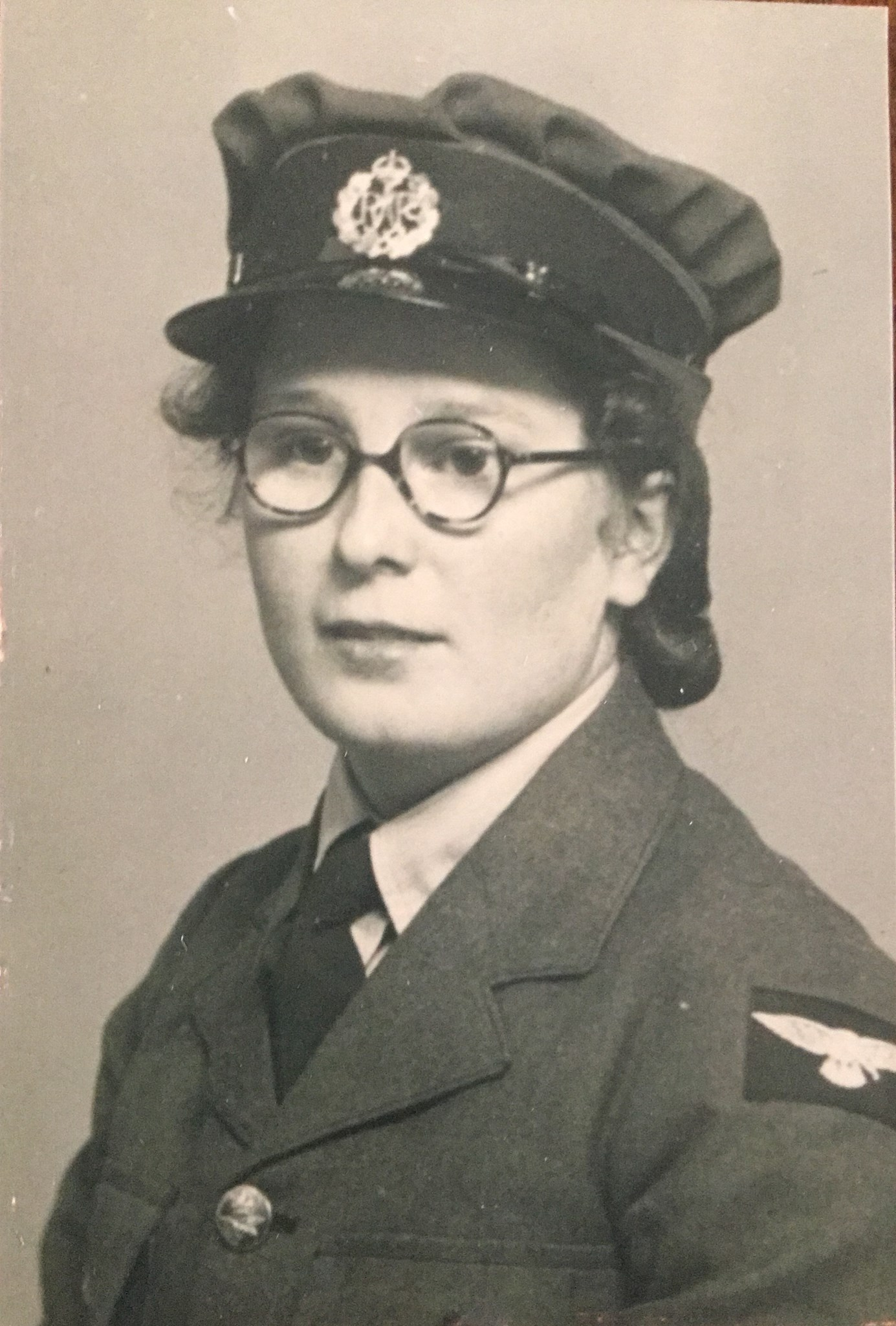 Joan joined the WRAFs in 1940