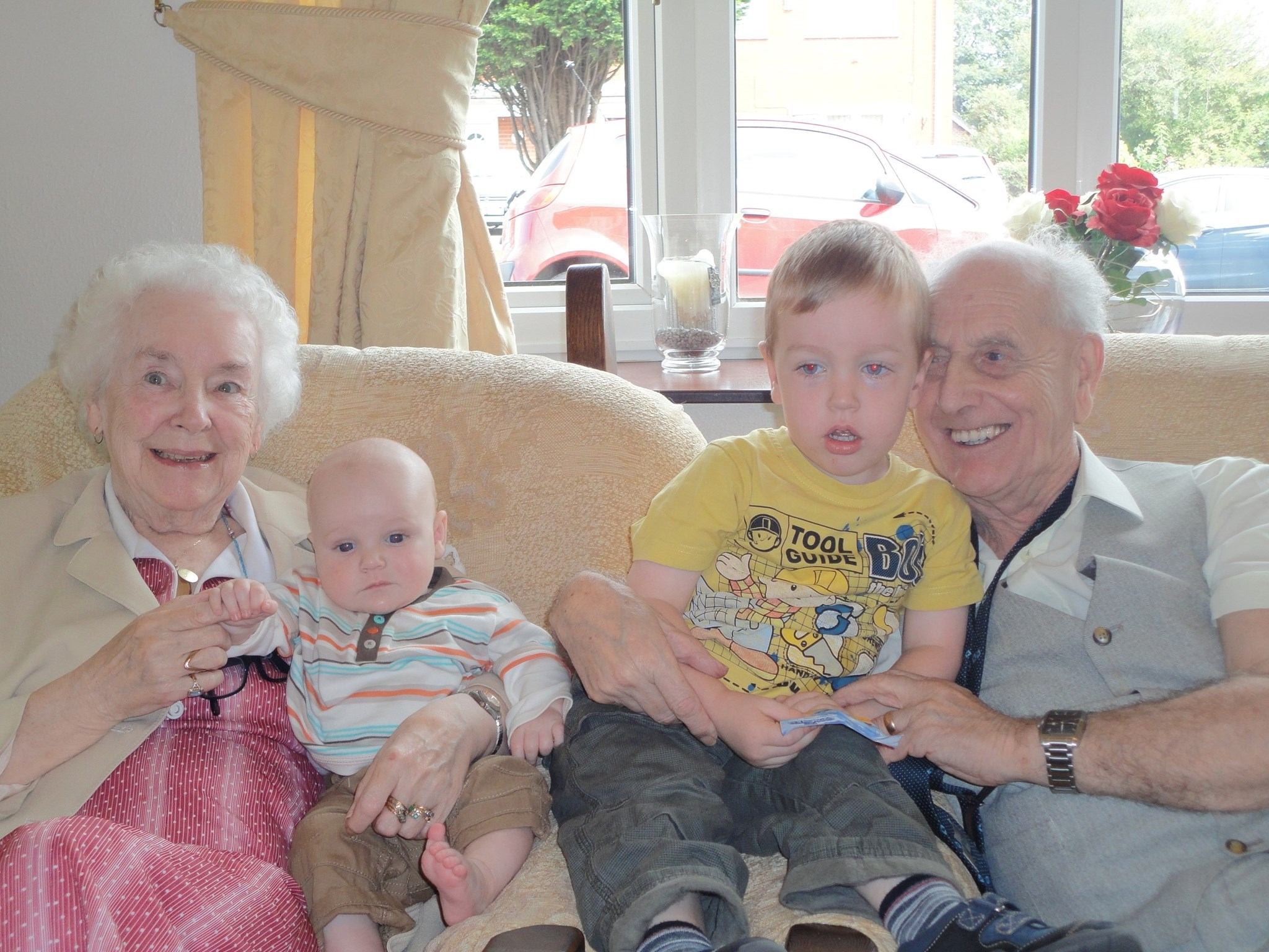 Happy times with the grandkids 2011