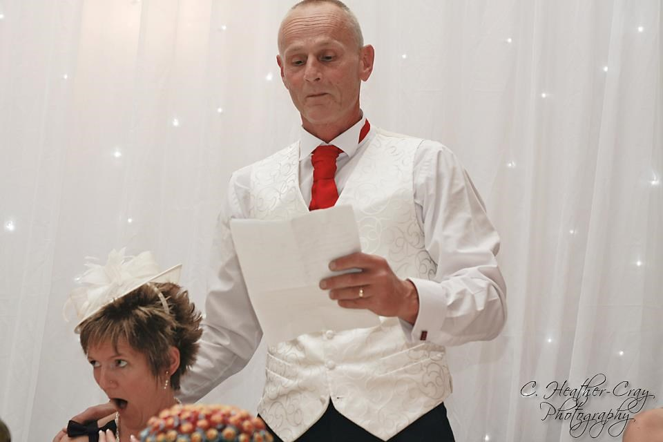 Neil - proud father of the bride.  (and a shocked mother of the bride!)