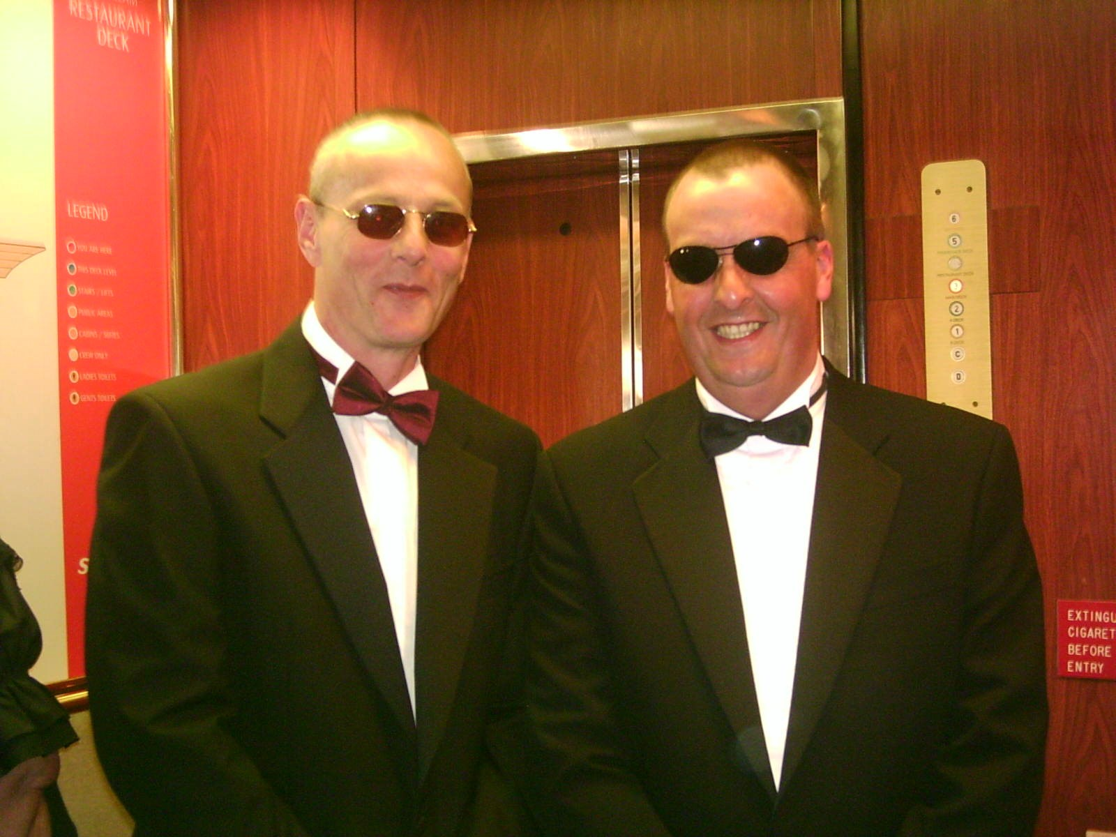 The Cruise Brothers!  Canary Islands Cruise 2004
