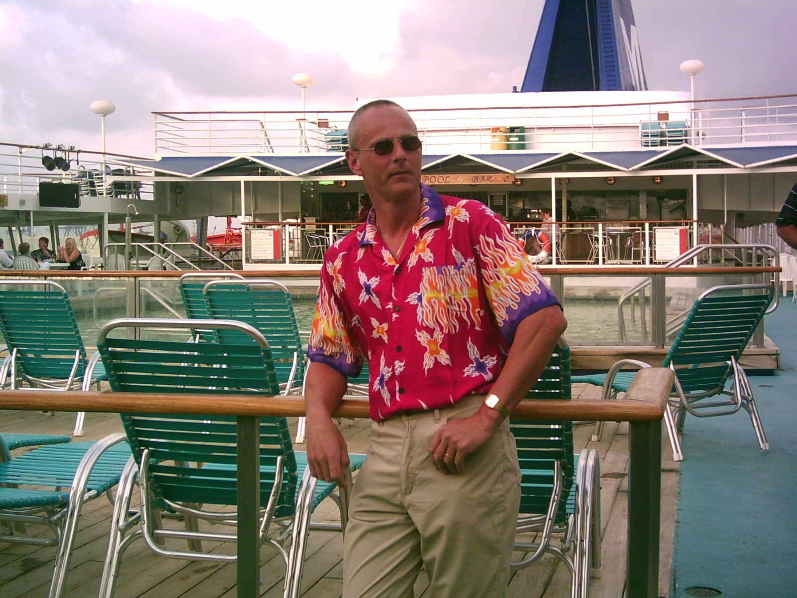 Canary Islands Cruise 2004 - Neil showing his love for bright shirts!