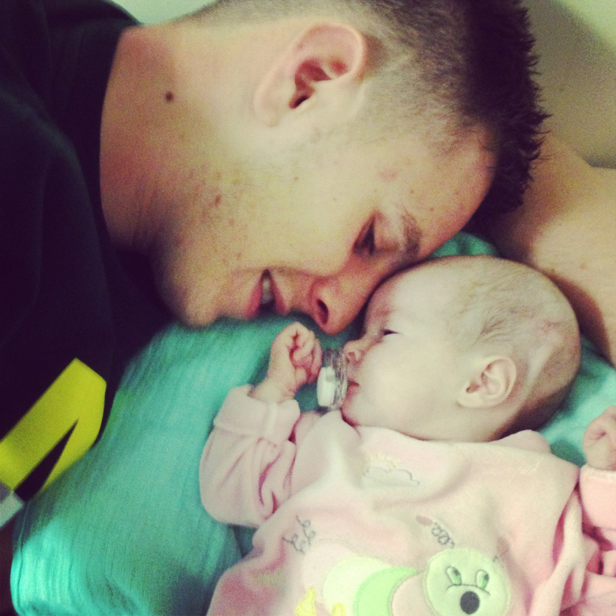 baby & daddy <3