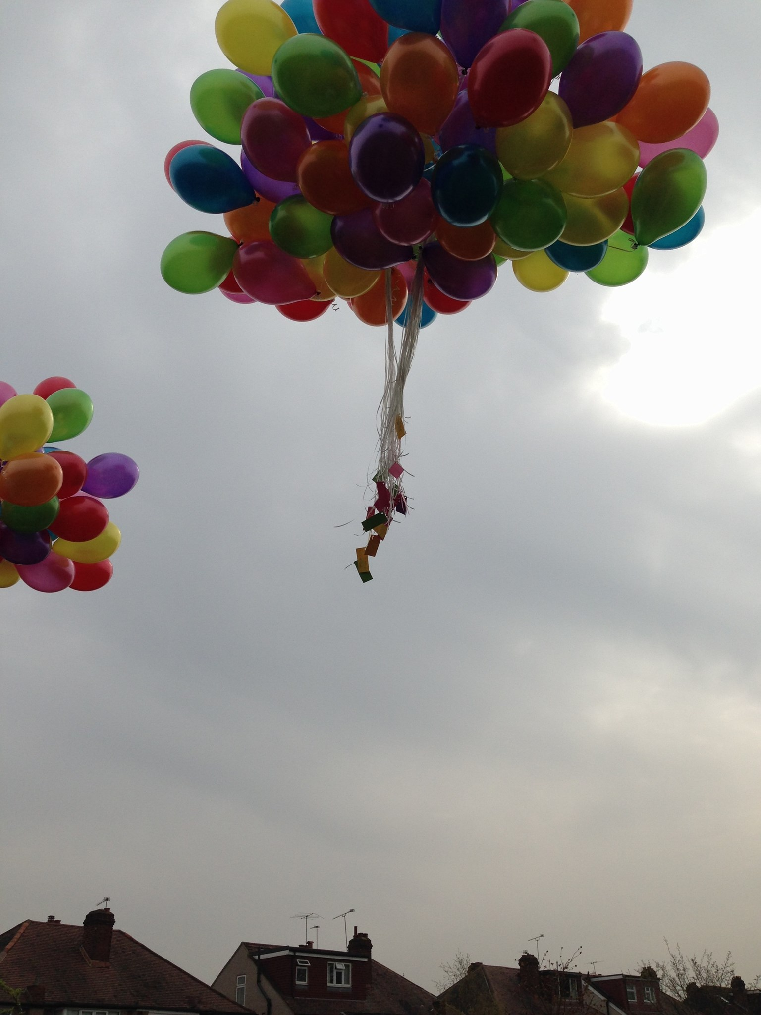 161 balloons for everyday of her life <3
