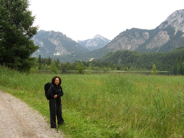 Claudia, near Fussen, Barvaria, Germany, 2011