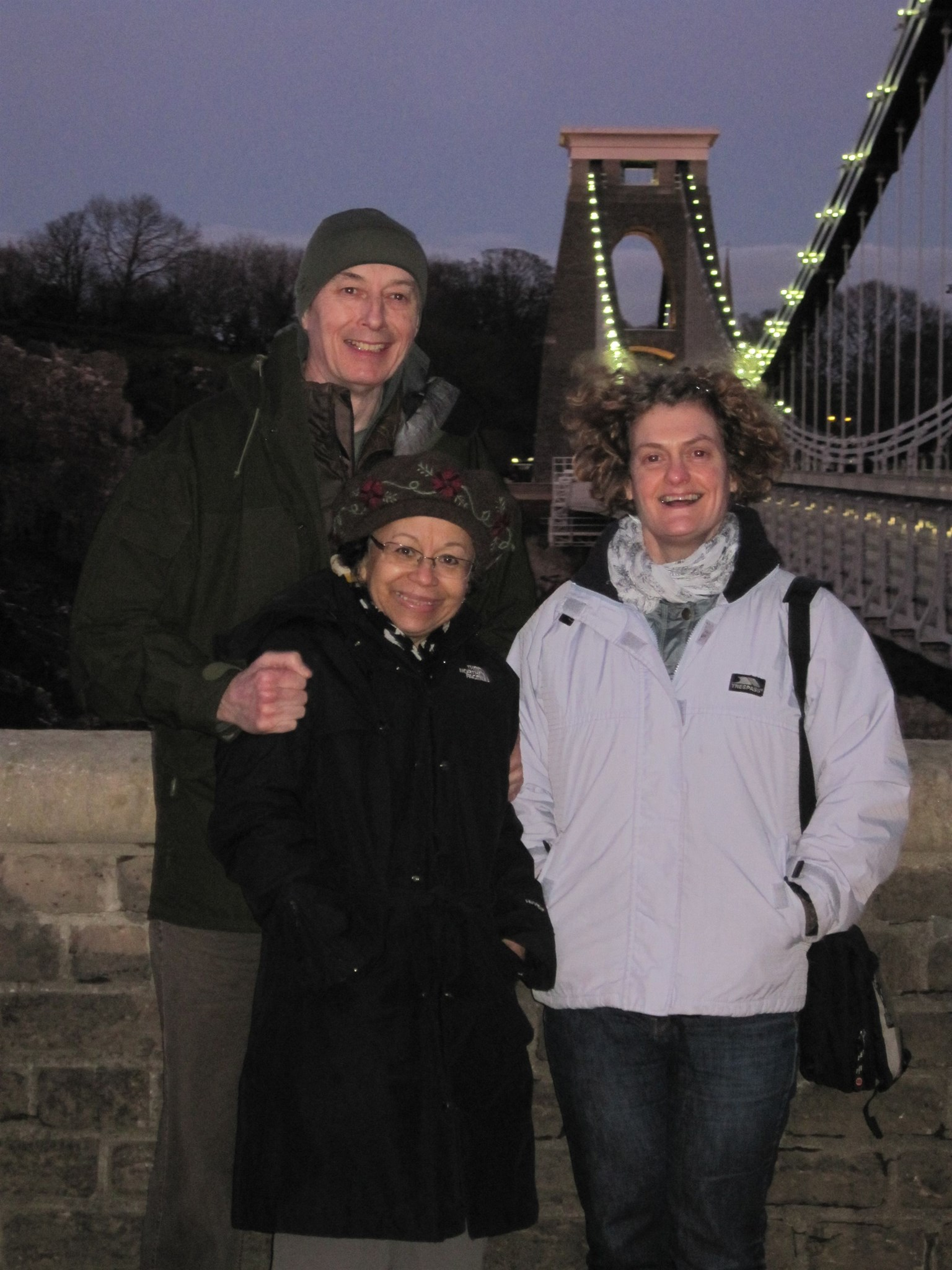 Claudia, Richard and Kaz in Bristol