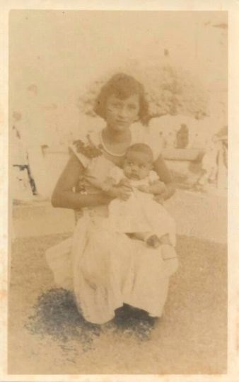 Claudia and her Mother