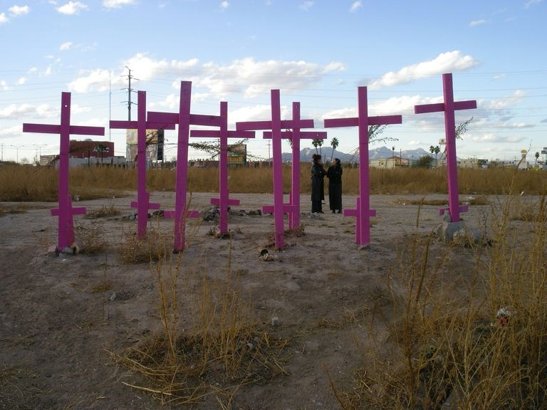 In Juarez, Mexico 2006