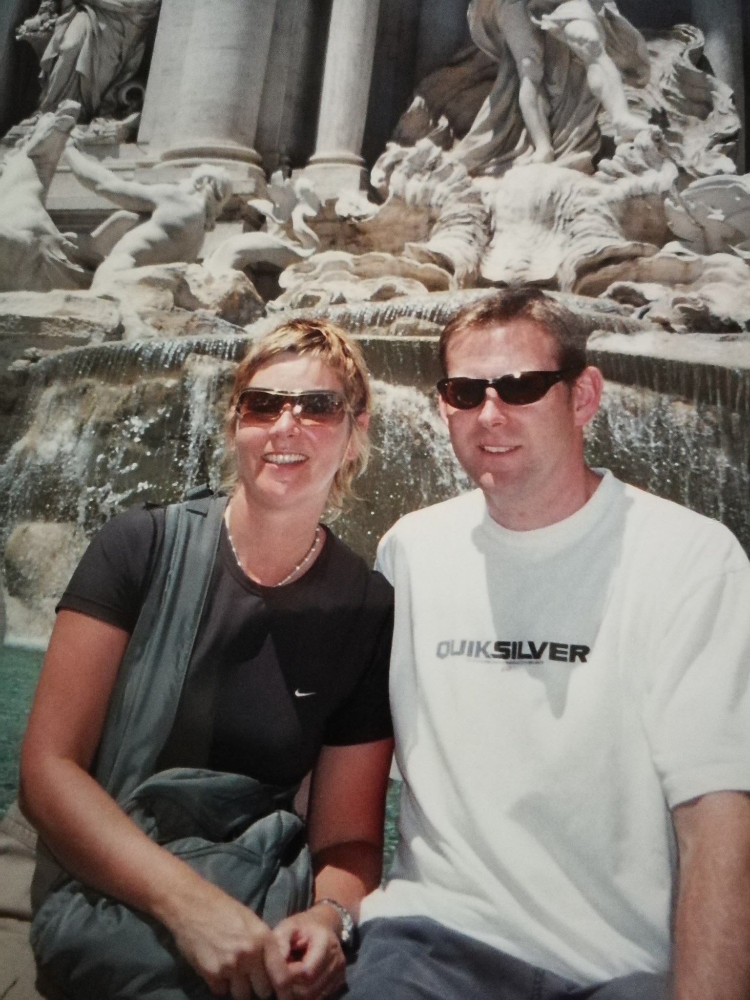 Trevi Fountain, Rome 2004
