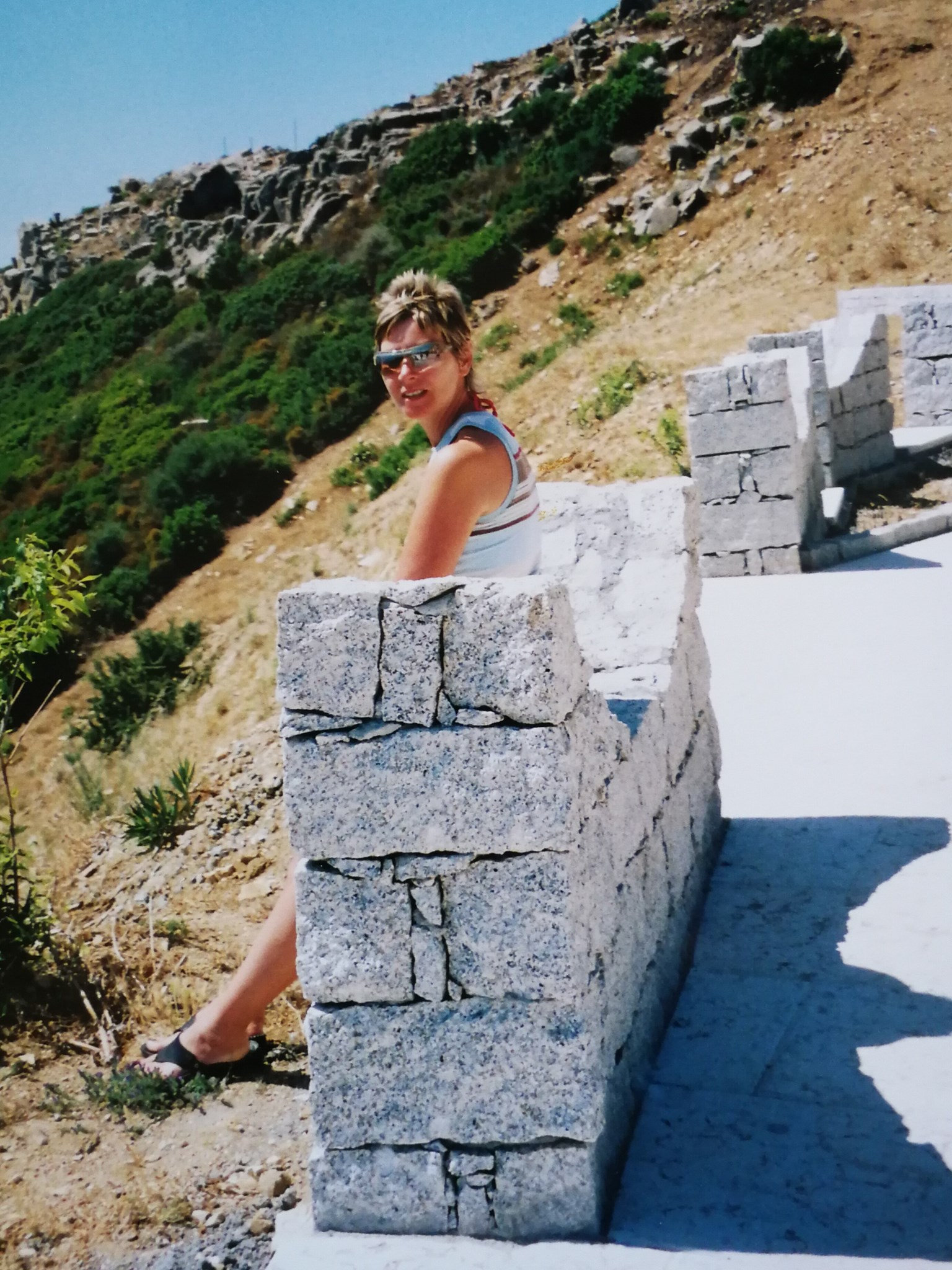 Another long weekend!!  This time it was in Sardinia circa 2005