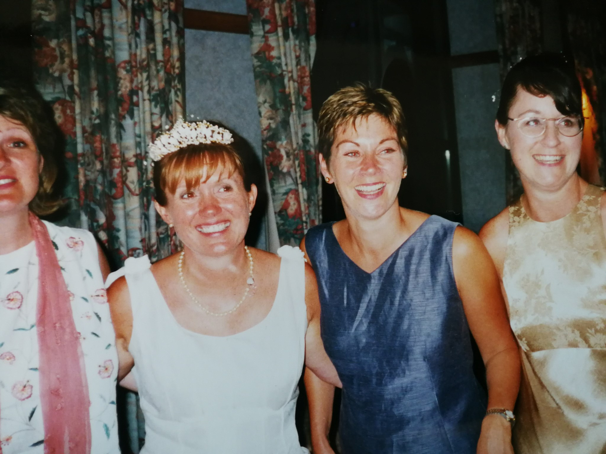 Jackie's wedding day ... a long time friend of Sue, Jill and I