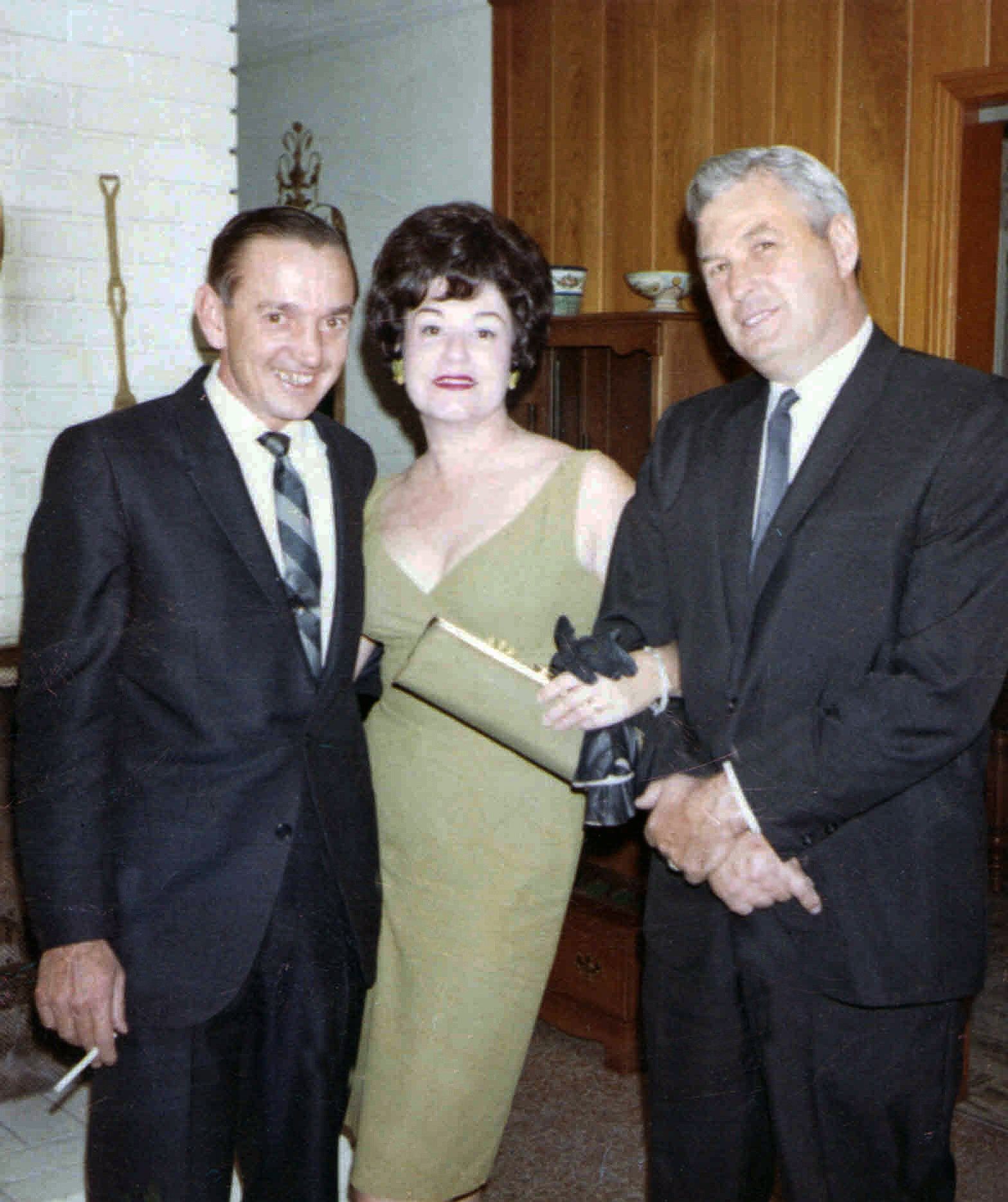 Buddy Alston, Connie OOOllalla and Jack