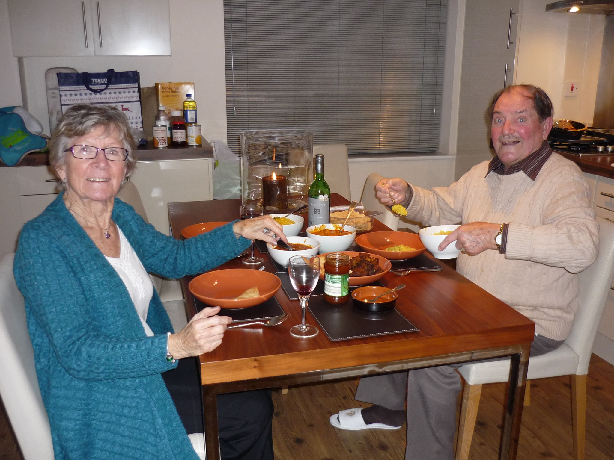 Curry Night in Derbyshire