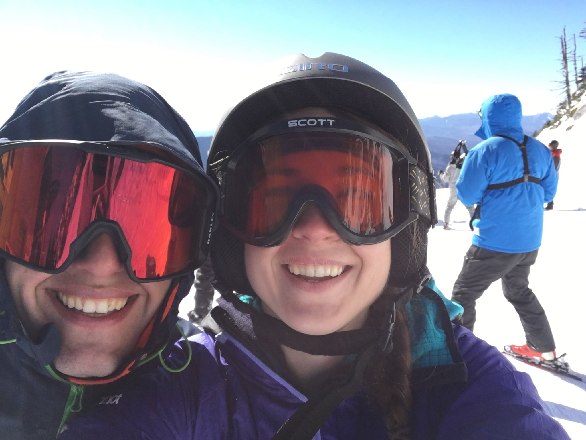 Skiing at Whiteface mountain, NY, 2017