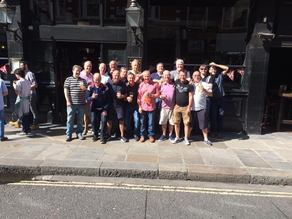 London Jolly Boys Day out last year