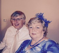 Mum and Dad at James and Amanda's Wedding