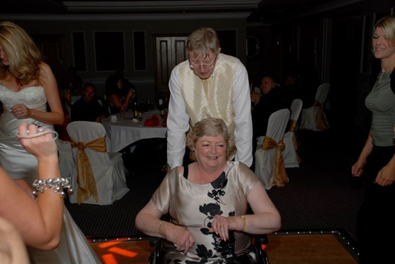 Mum and Dad dancing at my wedding x